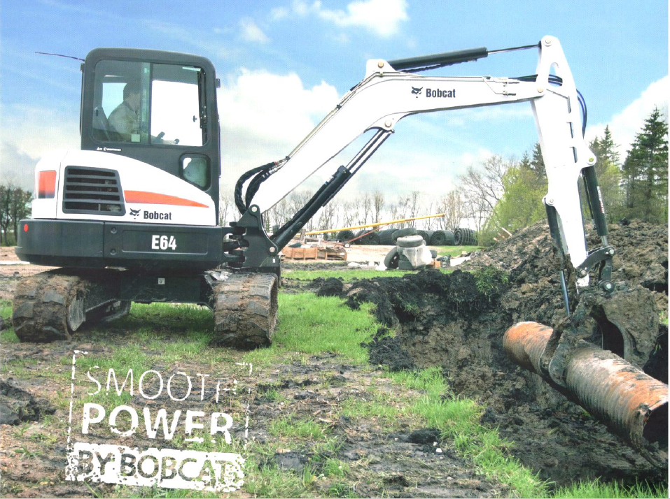 Mini Excavator E64 - Shree Balaji