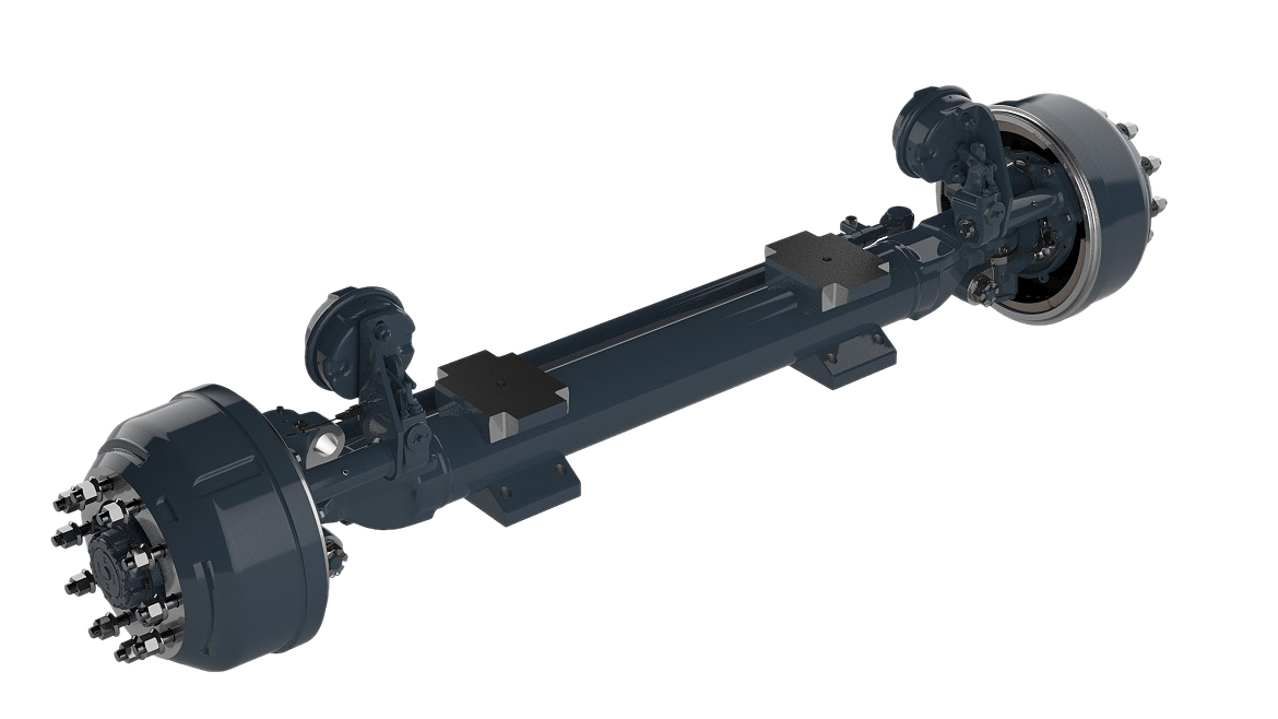 Non-drive Steerable Axles